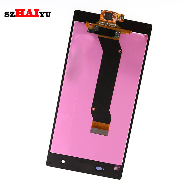 ФОТО Free Shipping 100% Good Test LCD Display+Touch Screen For Sony Xperia Z1S L39T L39U C6916 with Digitizer Assembly Tools