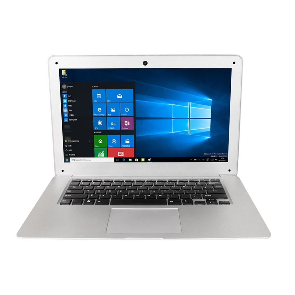 Jumper Original Ultrathin Laptop 14.1 Inch Windows 10 Notebook 1920x1080 FHD Intel Cherry Trail Quad Core 4GB+64GB Computer 1