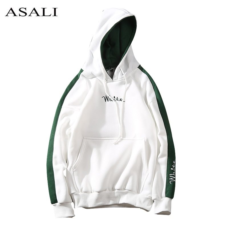 2017 Autumn White Hoodies With Hat Men Bs