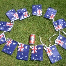 9 м длинный флаг Австралии Вымпел гирлянда с флажками Праздничное оформление