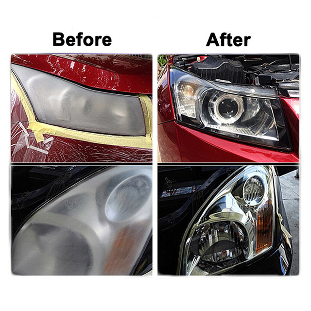 5 In 1 HGKJ Automotive Car Window cleaner Auto Cleaning Glass headlight repair renovation tool Truck Motorcycle Car Accessories