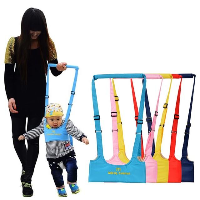 469e6dd1431 Ceinture de marche pour bébé sangle réglable laisses nouveau-né  apprentissage Assistant de marche ceinture