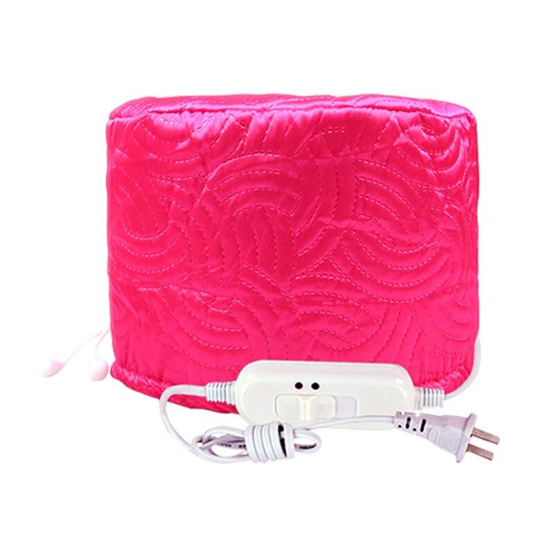 Karšto rožinio raudonojo žvaigždės ženklo elektrinis šildymo dangtelis plaukų dažymui garavimo kamšteliui Plaukų priežiūra Invertuota plėvelė Pagrindinis dangtelis Dažų plaukų dangtelis