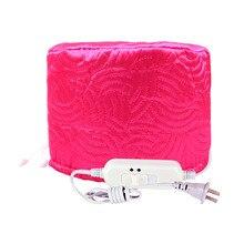 Hot Rose Red Star Brand Electric Heating Cap For Hair Coloring Evaporation Cap Hair Care Inverted Film Home cap Dye Hair Cap