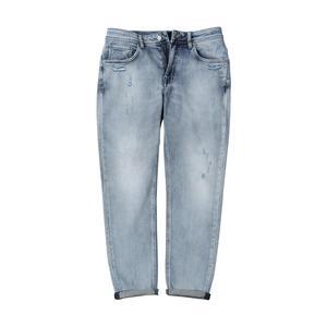 Image 5 - SIMWOOD di 2019 autunno nuovi jeans degli uomini strappato hole vintage caviglia lunghezza pantaloni in denim lavato moda hip ho