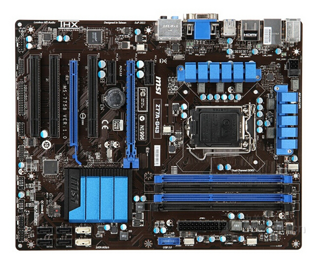 все цены на original motherboard for MSI Z77A-G43 LGA 1155 DDR3 for i3 i5 i7 cpu 32GB USB3.0 SATA3 Z77 Desktop motherboard Free shipping
