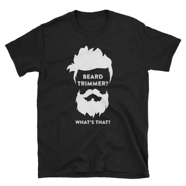 Beard Trimmer T-Shirt Beard Shirt Gifts Newest 2019 Fashion Stranger Things Summer Street  Men's Short Sleeve Cheap T Shirts