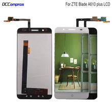 цена на Original Display For ZTE Blade A610 Plus LCD Display Touch Screen Replacement For ZTE Blade A610 plus LCD Display Phone Parts