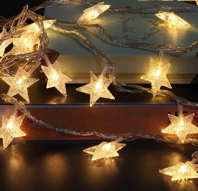Weihnachtsbaum lichterkette sterne