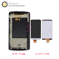 Original Tested 5 5 White Black Golden Tested Options For LG G3 Stylus D690 LCD Display