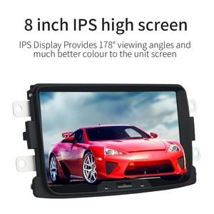 "Image 4 - داسايتا 8 ""أندرويد 10 1 الدين راديو السيارة لتحديد المواقع ل سيارة رينو داستر داسيا سانديرو كابتور لادا Xray 2 لوجان 2 4*50 واط المتكلم MP3 TDA7850"