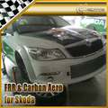 New Car Styling For Skoda Octiva CTCC Style FRP Fiber Glass Front Bumper