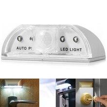 KINLAMS LED PIR Infrared Detection Motion Sensor Night Light Home Door Keyhole