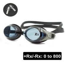 6d53fc85cc Optical Swim Goggles +Rx -Rx Prescription Swimming Glasses Adults Children  Different Strength Each Eye