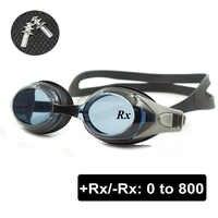 Optische Schwimmen Brille + Rx-Rx Rezept Schwimmen Gläser Erwachsene Kinder Verschiedenen Festigkeit Jedes Auge mit Freies Ohr Stecker