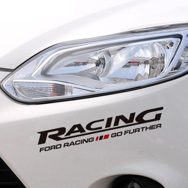 Góra Samochód naklejka naklejka dla Ford Focus Fiesta Mondeo Racing KF08