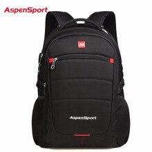 AspenSport 2017 Marke Mode Laptop Rucksack 15,6 Für Männer Business Rucksack Notebook Tasche Schultasche Reiserucksack Für Frauen