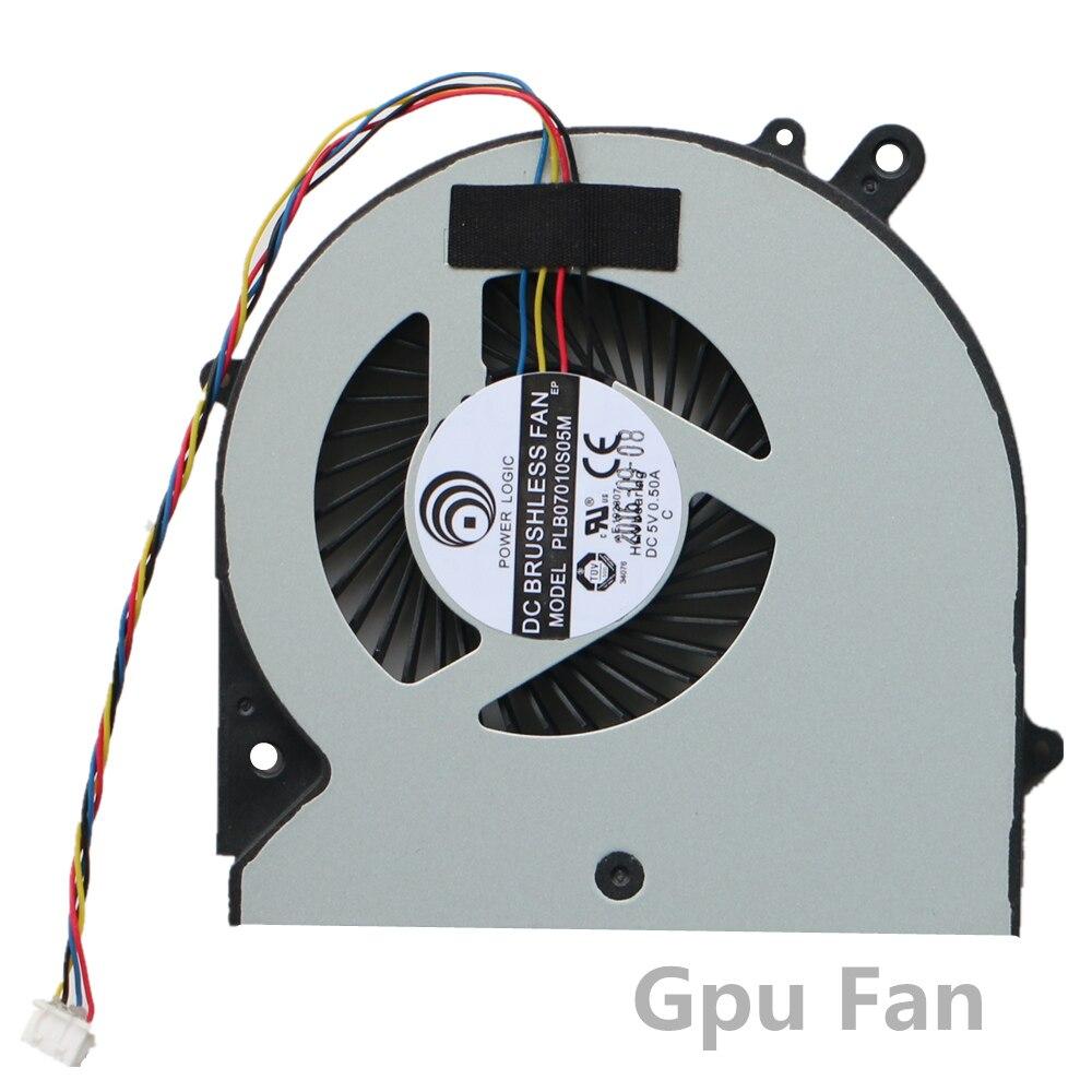 NEW Gpu Fan For RP37X6 PLB07010S05M For Gigabyte P37 Gpu Cooling Fan