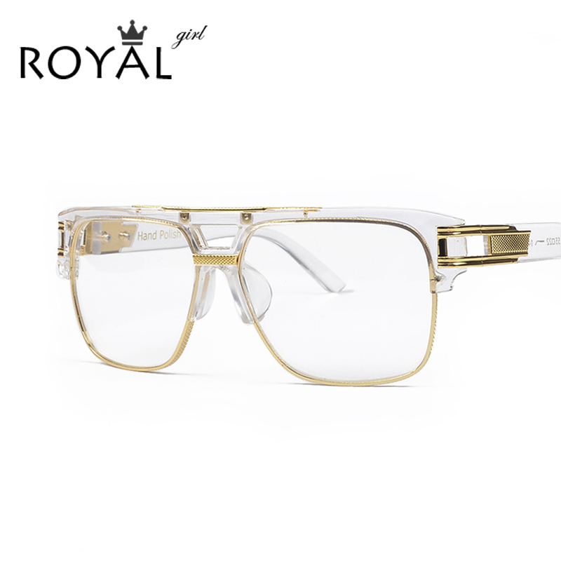 roya girl luxury women brand glasses frame vintage oversize clear lens glasses men eyeglasses frames acetate
