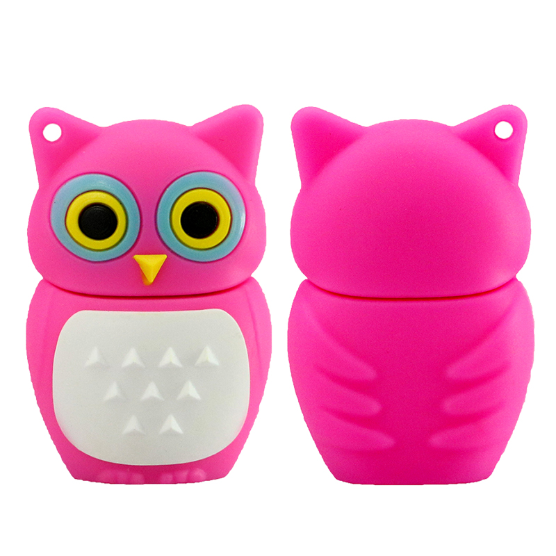 Cute Owl USB 2.0 Flash Drives გარე შენახვის - შემნახველი წყაროები - ფოტო 4