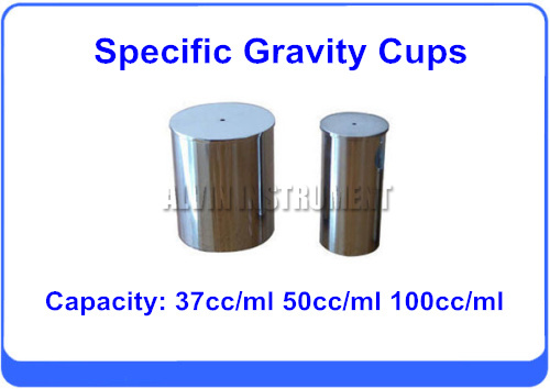 Free Shipping  Density (Specific Gravity) Cups 37cc/ml 50cc/ml 100cc/ml  Stainless steel high quality 37ml stainless steel density specific gravity cups with din 53217 iso 2811 and bs 3900 a19 standard