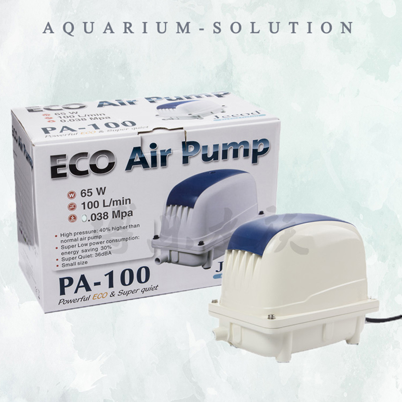 100L/min Jecod/Jebao PA-100 ECO Luftpumpe Große Druck Kompressor Koi Fisch Septic Tank Hydrokultur Teich Geräuscharm Belüfter