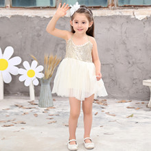 Baby Girl Clothes Vestidos Summer Beading Dress White Backless Girls Teenage Princess 2-6 Years Children Dresses