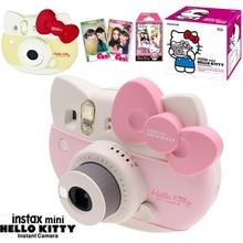 Fujifilm Instax Mini 8 Hello Kitty Limited Edition Instant Photo Film Camera + 10 Sheet Kitty Films + Stickers + Strap box Set
