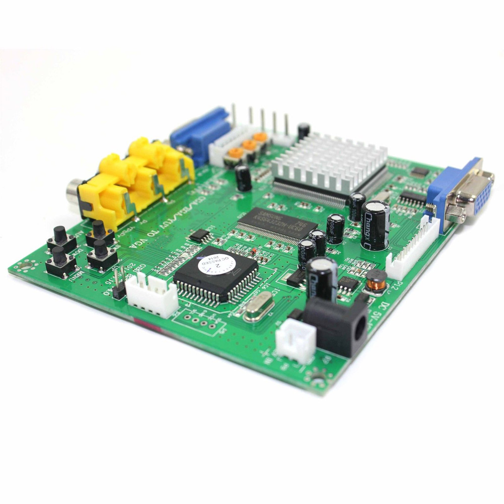 Arcade Spiel RGB Ega Yuv zu VGA HD Video Konverter Platte Cga