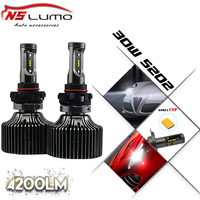 New Arrival P7 Led Headlight Super Bright LED Headlight Kits 5202 12V 24V DC 8400lm Adjustable