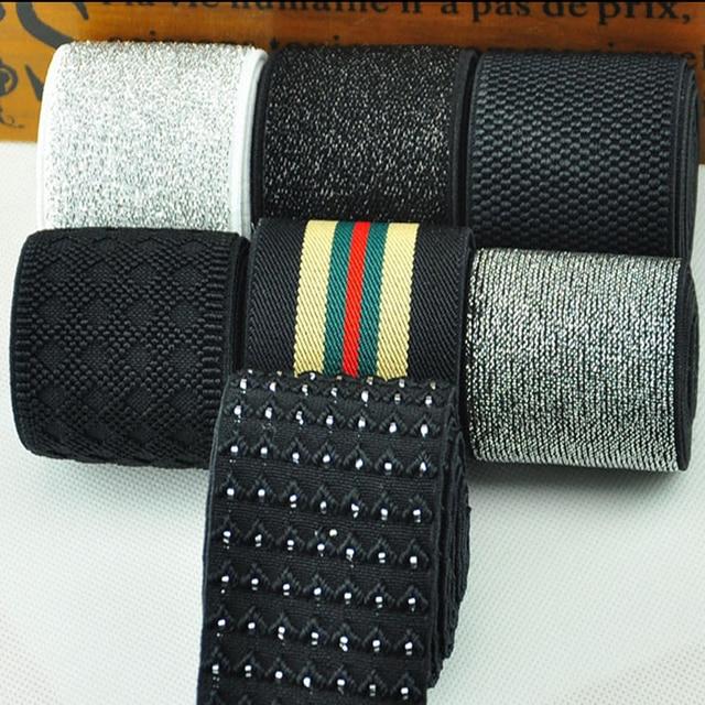 864f41bed27f 5 centimetri di larghezza elastico in vita/accessori di abbigliamento  cucito/fascia elastica/