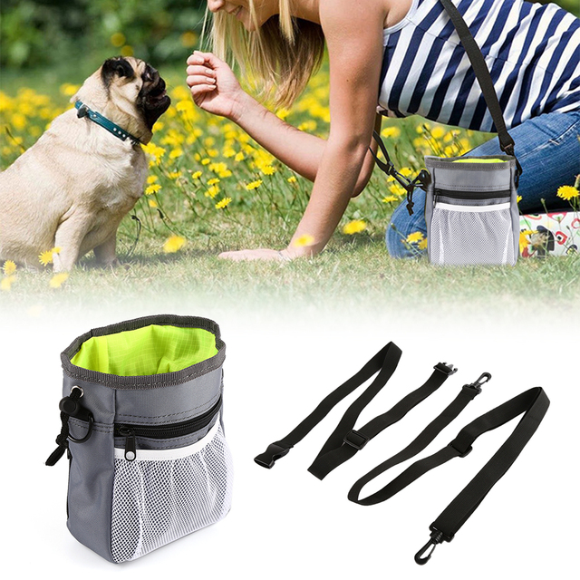 Pet Dog Training Treat Snack Bait Dog Obedience Agility Outdoor Pouch Food Bag Dogs Snack Bag Pack Pouch 2017 fashion new