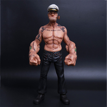 30cmBoutique popeye the sailor  with 30 different tattoos Figure Anime bjd Art Sketch Draw figures childhood memory