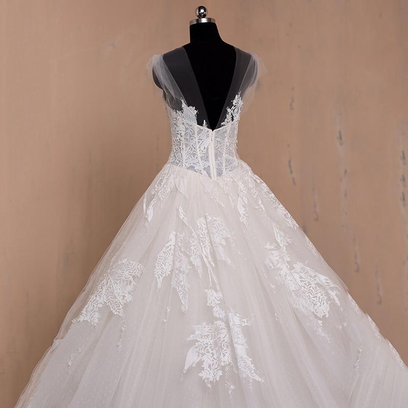 μακρύ μανίκι μανίκι μουσουλμανική - Γαμήλια φορέματα - Φωτογραφία 5