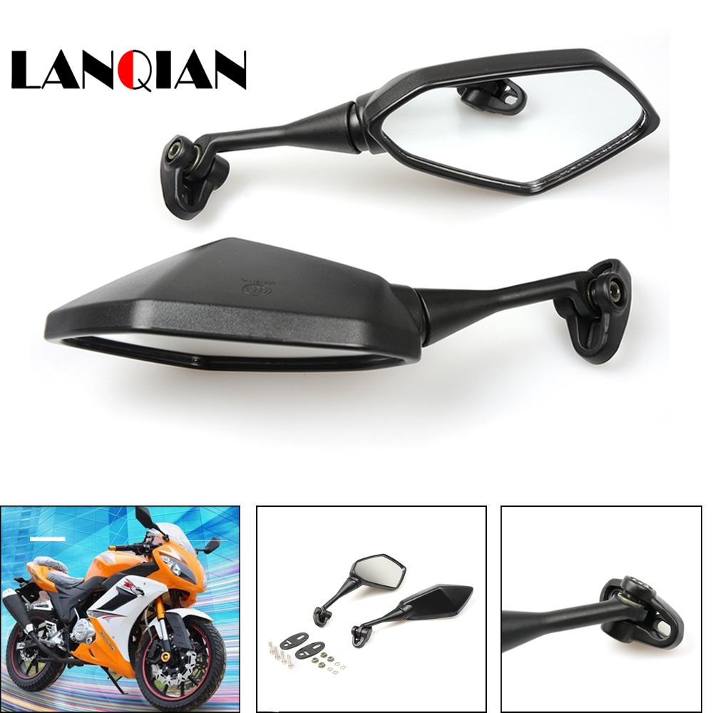 Universal Motorcycle Mirror View Side Rear Mirror 7/8 22mm Handle bar For TRIUMPH TIGER  ...