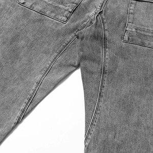 Image 5 - سيموود 2020 موضة الربيع الجديد من سراويل الجينز الرجالية ذات العلامة التجارية الممشوقة بمقاسات كبيرة ملابس الشتاء عالية الجودة NC017060