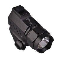SingFire SF P02 CREE XP G R5 350LM 2 Mode Tactical Pistol LED Flashlight (1*CR2 battery) Black