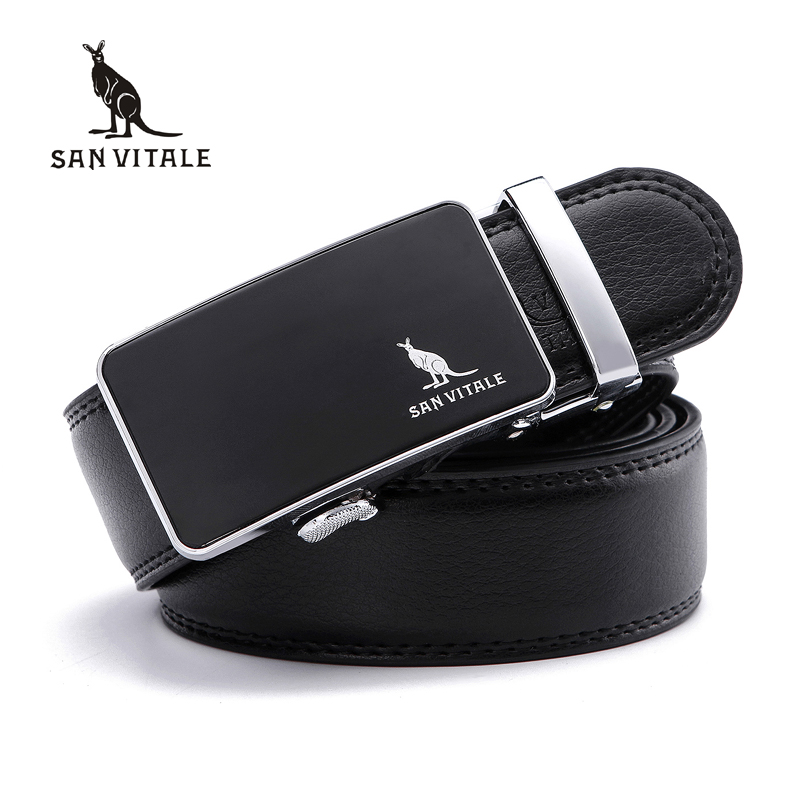Mens   Belts   for Male Waistband Removable Trimmer Buckles Men Real Leather   belt   Brand Casual Design Buckle high quality ratchet