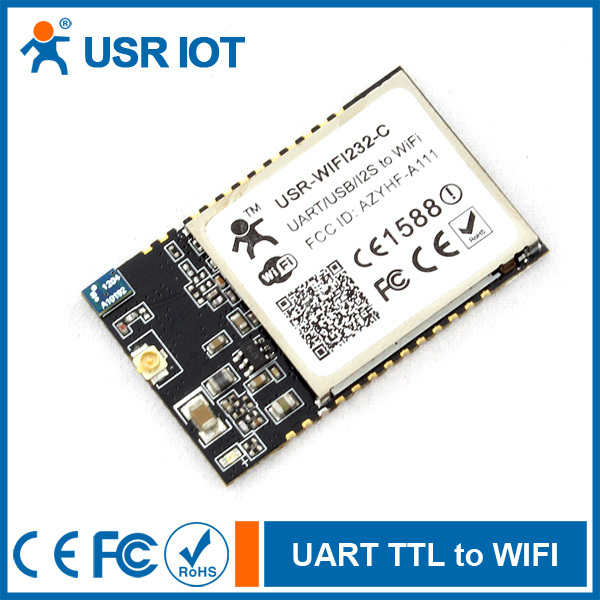 SERIAL TTL RS232 TO 802.11 B//G//N CONVERTER EMBEDDED WIFI MODULE USR-WIFI232-B