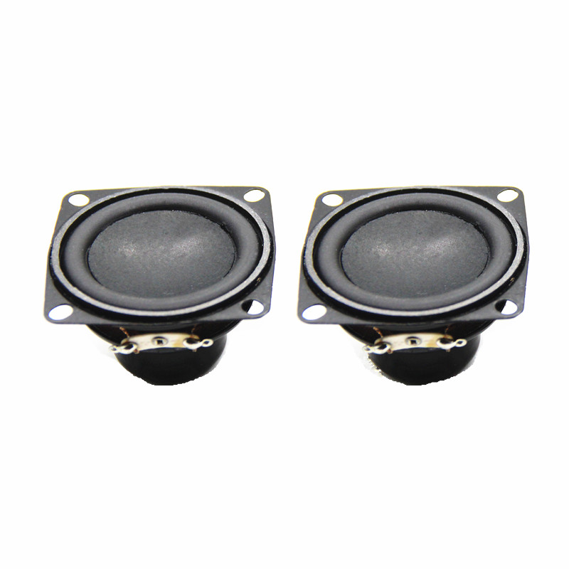 2PCS 53Mm2 Inch 4 Ohm 10W Magnetic Speaker/Bass Multimedia Speaker /Small Speaker With Fixed Hole