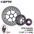 ZTTO MTB 11 SLR Velocidade 11-50T 11s Ultraleve CNC Colorido Roda Livre Cassete Bicicleta Mountain Bike Roda Dentada HG Hub XX1 gx m9000