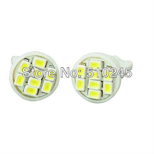 2000X Free shipping Car Auto LED T10 194 W5W 8 led smd 3020 Wedge LED Light