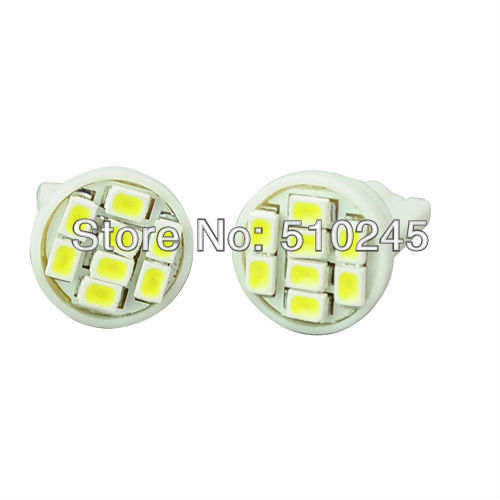 2000X Free shipping Car Auto LED T10 194 W5W 8 led smd 3020 Wedge LED Light Bulb Lamp 8SMD White форадил комби капсулы 12мкг 200мкг 60 60шт