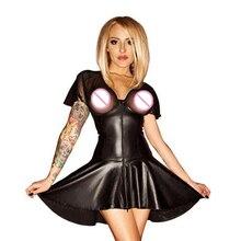 Экзотические платья для женщин, экзотическая Одежда для танцев размера плюс, сексуальный костюм из латекса, вечерние костюмы для ночного танца, одежда для танца на шесте, черный цвет