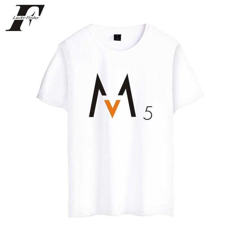 Maroon 5 Rock Band fitness t Shirt Summercamiseta masculina T-shirt Fashion XXS-4XL Soft Cotton 3d printed t shirt