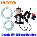 Free Shipping Professional Electric DC 12V Oil Pump, Diesel Fuel Oil Engine Oil Extractor Transfer Pump, Powered By Car Battery