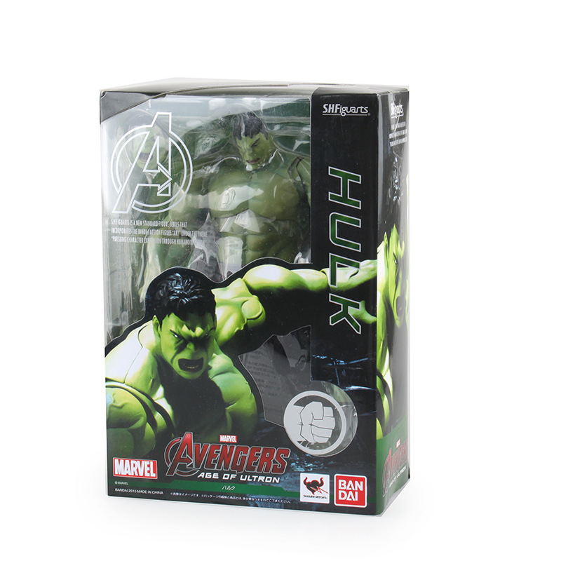Crazy Toys Avengers Age of Ultron Hulk PVC Action Figure Collection Toy 9 23CM RETAIL BOX zy044 bosch promoline 2607019450
