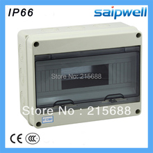 295*255*130mm 12 way ABS household waterproof Distribution Box Electric distribution box most popular waterproof enclosure portable distribution box electrical boxes power distribution box sp at 302016