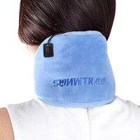 SUNWTR 1 Pair Heating Neck Pads Electric Far Warm Fomentation Neck Reduce Neck Pain Protect Neck