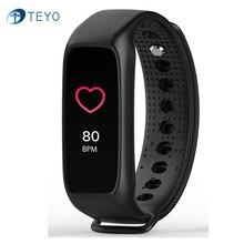 Teyo L30t Smart Band динамического сердечного ритма Мониторы браслет полный цвет TFT-LCD Экран smartband для Apple IOS Android-смартфон